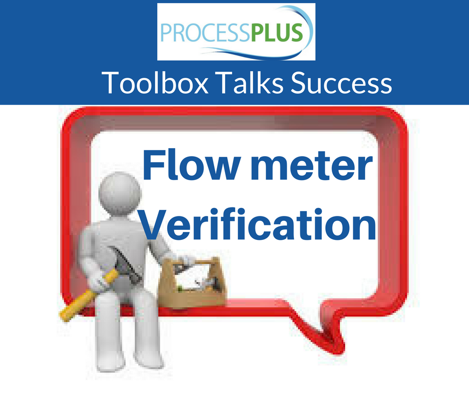 Flow Meter Verification